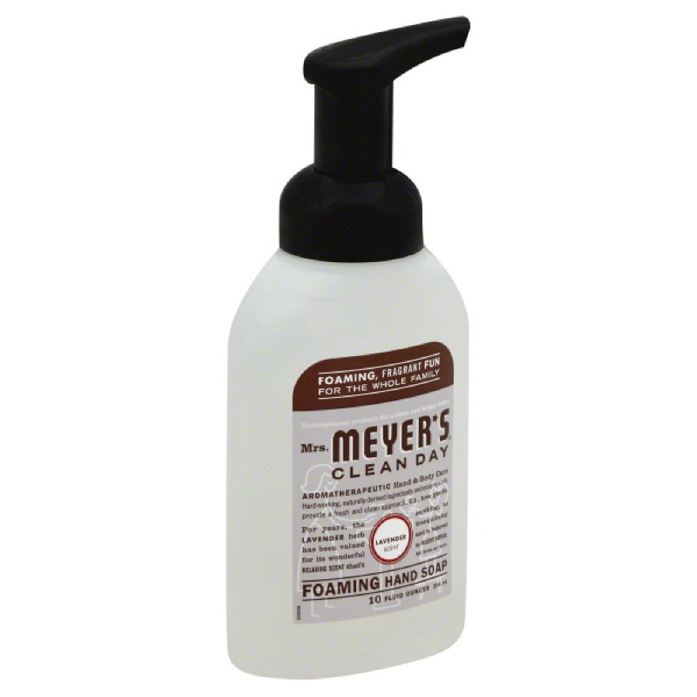 Mrs Meyers Lavender Scent Foaming Hand Soap, 10 Oz