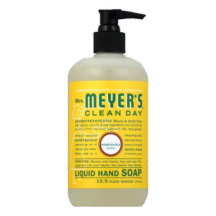 Mrs. Meyers Honeysuckle Liquid Hand Soap, 12.5 OZ (Pack of 6)