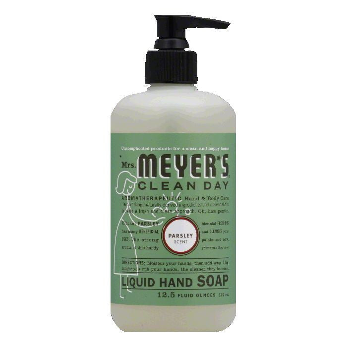 Mrs Meyers Parsley Scent Liquid Hand Soap, 12.5 Oz
