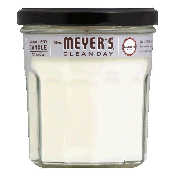 Mrs. Meyers Lavender Soy Candle, 7.2 OZ (Pack of 6)