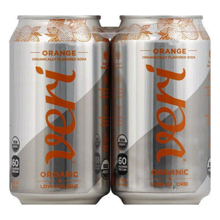 Veri Orange Soda, 48 Oz (Pack of 3)