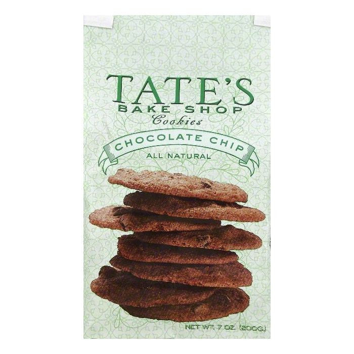 Tates Bake Shop Chocolate Chip Cookies, 7 OZ  ( Pack of  6)