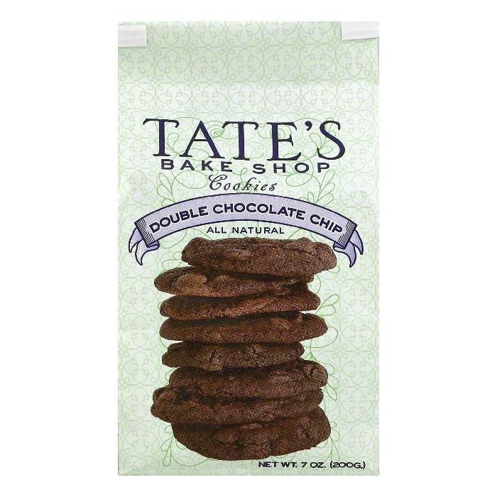 Tates Bake Shop Double Chocolate Chip Cookies, 7 OZ  ( Pack of  6)