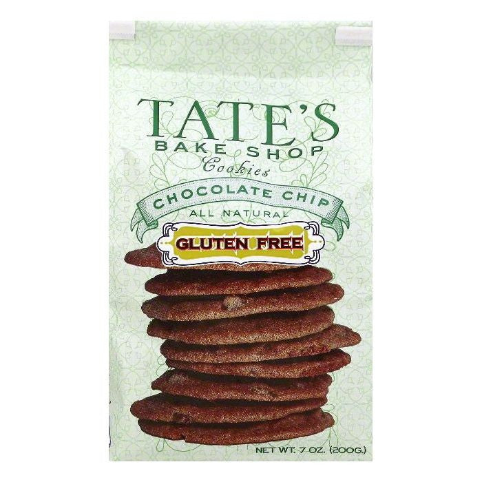 Tates Bake Shop Chocolate Chip Gluten Free Cookies, 7 OZ  ( Pack of  6)