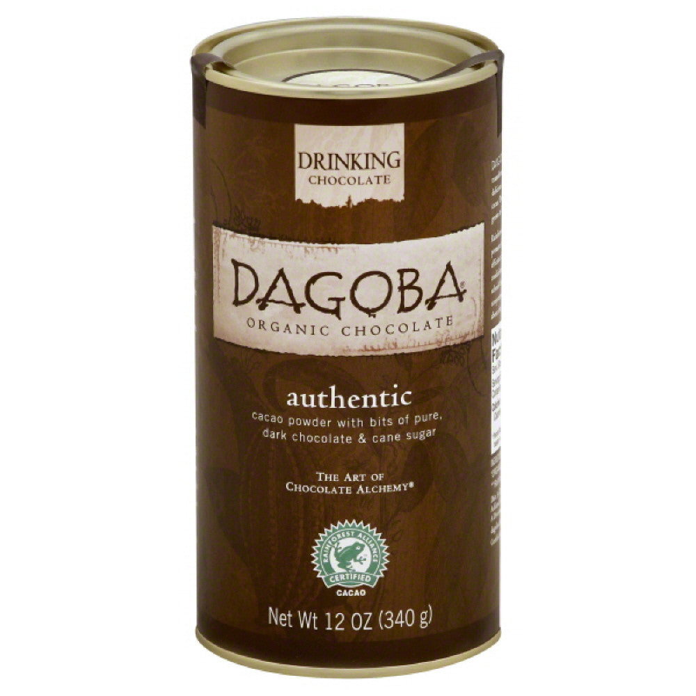 Dagoba Authentic Drinking Chocolate, 12 Oz (Pack of 6)