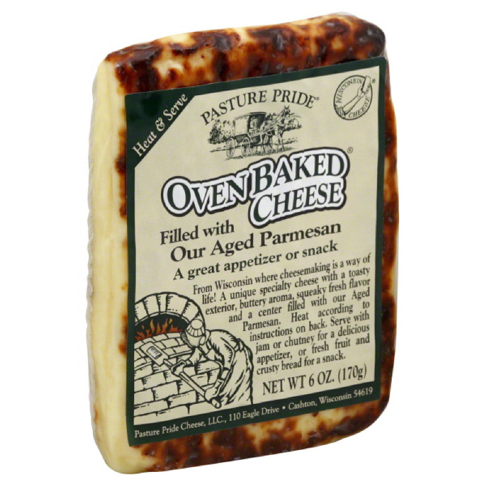 Pasture Pride Filled with Aged Parmesan Oven Baked Cheese, 6 Oz (Pack of 10)