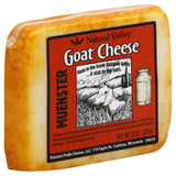 Natural Valley Muenster Goat Cheese, 8 Oz (Pack of 12)