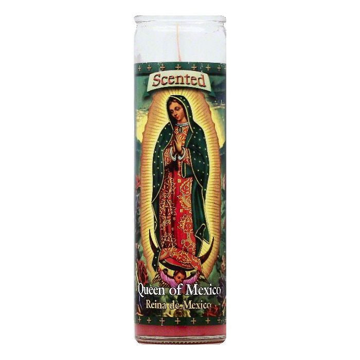St Jude Candle 8 inch Queen of Mexico Scented Candle, 1 ea (Pack of 12)