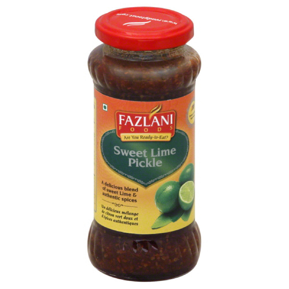 Fazlani Foods Sweet & Sour Sweet Lime Pickle, 350 Gr  ( Pack of  6)