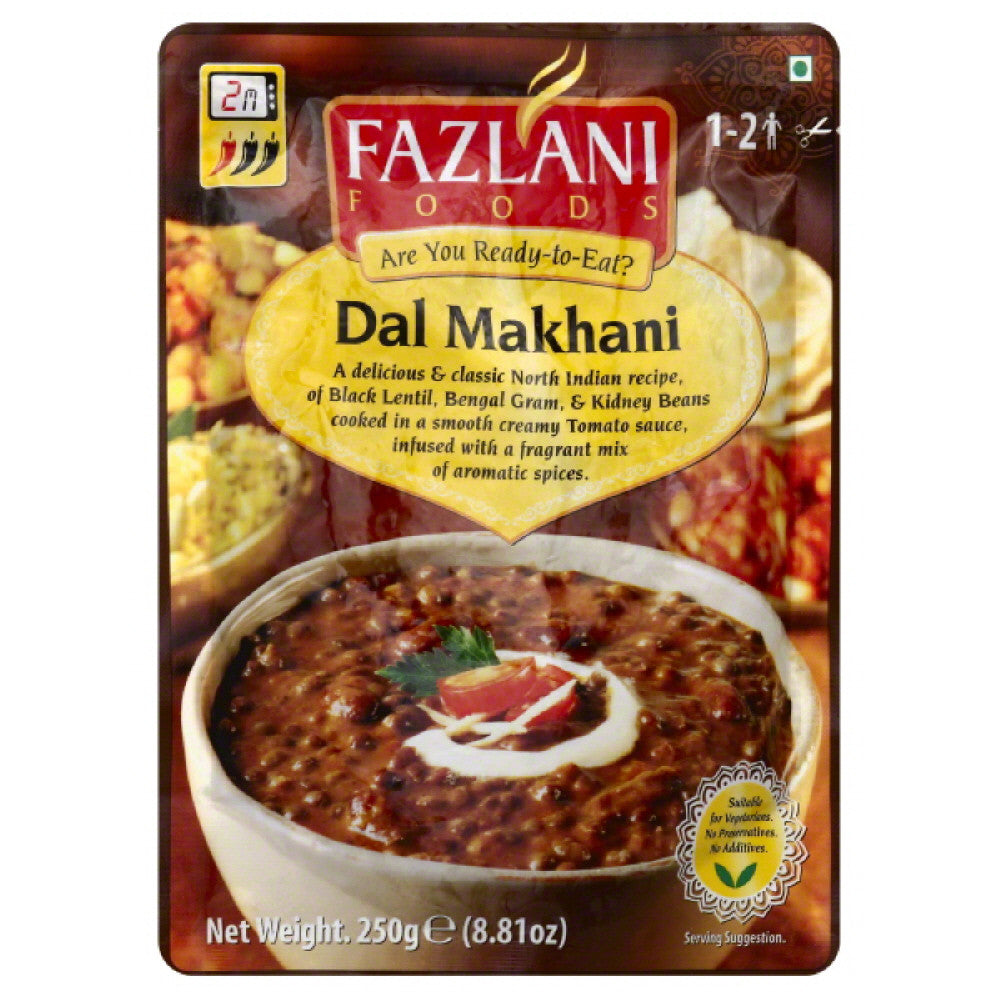Fazlani Foods Dal Makhani, 8.8 Oz  ( Pack of  12)