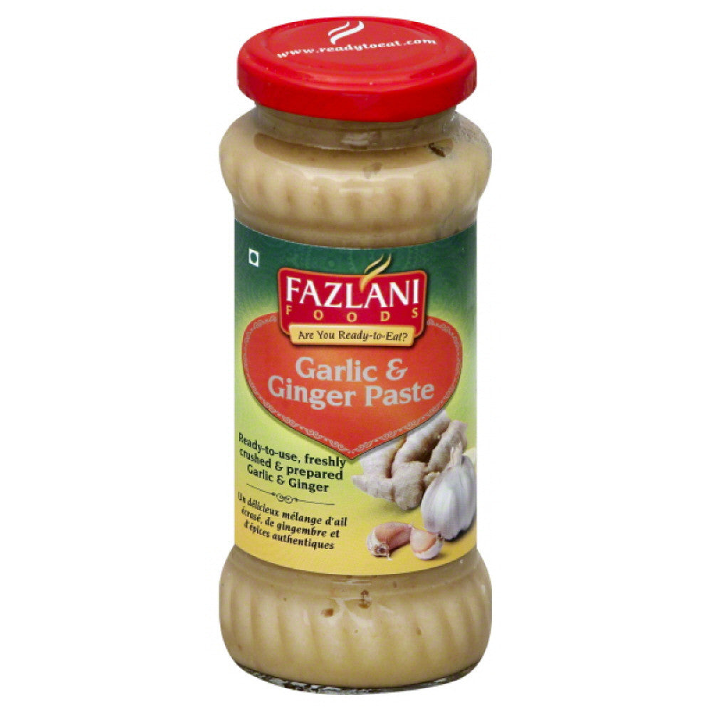 Fazlani Foods Garlic & Ginger Paste, 300 Gr (Pack of 6)