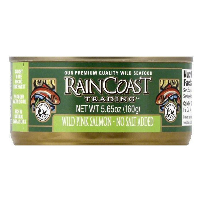 Raincoast Trading Wild Pink Salmon, 5.65 OZ (Pack of 12)