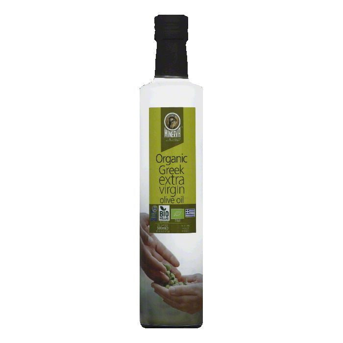 Minerva Greek Organic Extra Virgin Olive Oil, 16.9 FO (Pack of 6)