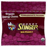 Honey Stinger Pomegranate Passion Organic Energy Chews, 1.8 Oz (Pack of 12)