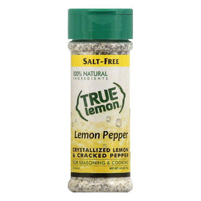 True Lemon Lemon Pepper, 2.85 Oz (Pack of 6)