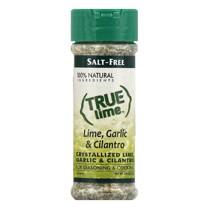 True Lime Garlic & Cilantro Lime Seasoning, 2.85 Oz (Pack of 6)