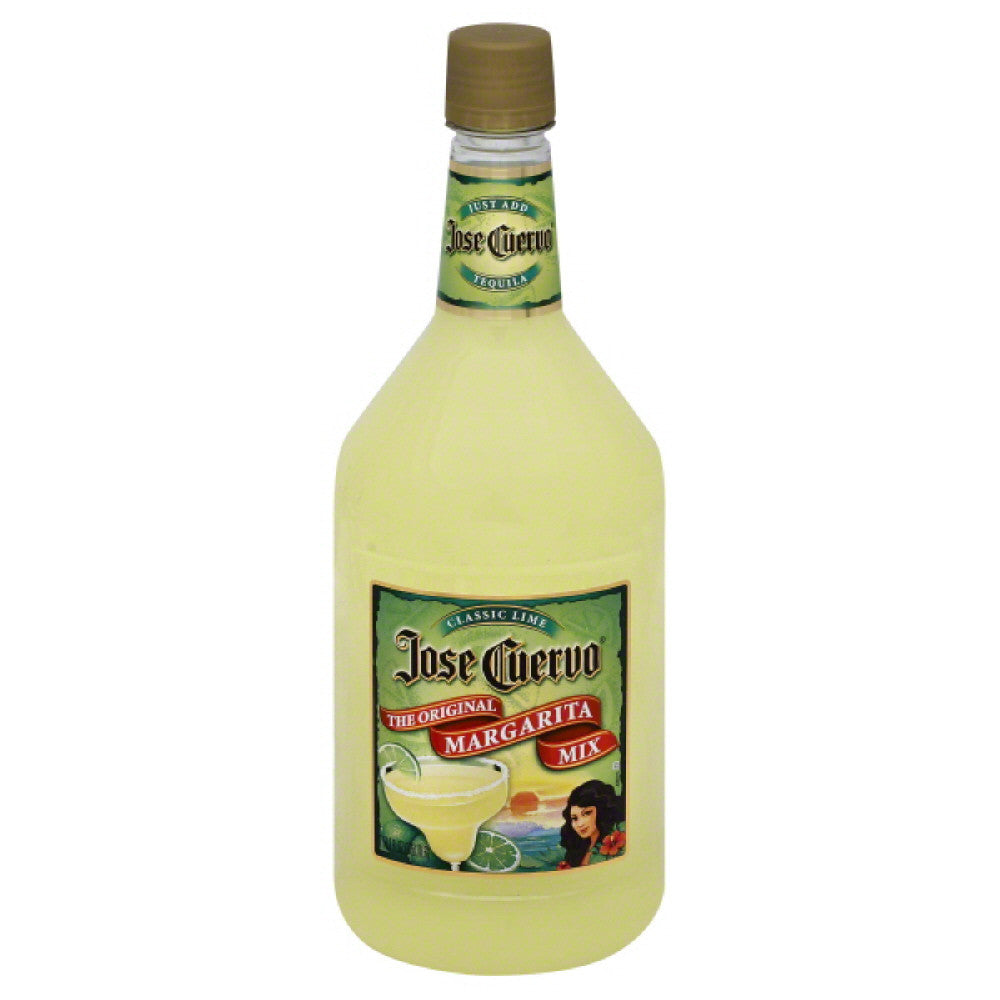 Jose Cuervo Classic Lime The Original Margarita Mix, 1.75 Lt (Pack of 6)