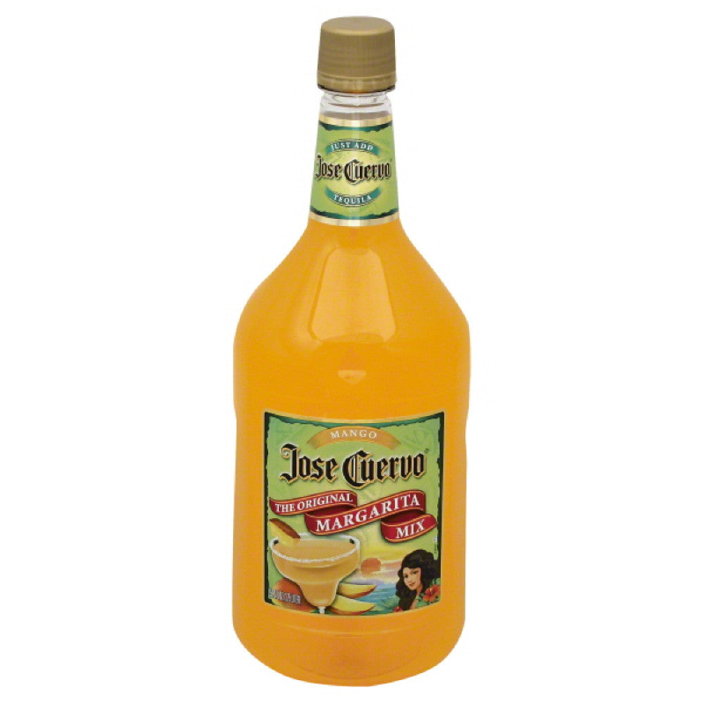 Jose Cuervo Mango The Original Margarita Mix, 1.75 Lt (Pack of 6)