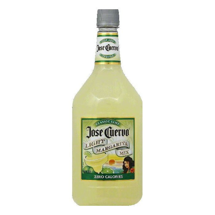Jose Cuervo Classic Lime Light Margarita Mix, 59.2 OZ (Pack of 6)