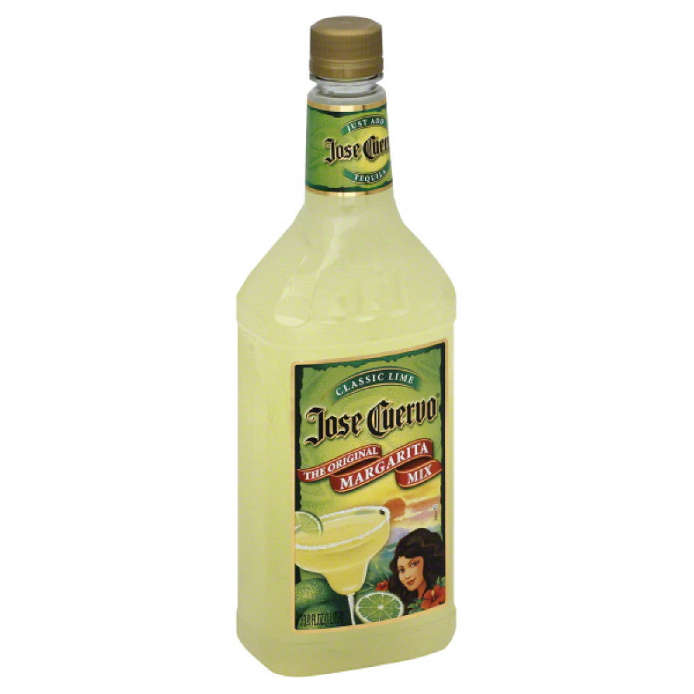 Jose Cuervo Classic Lime Margarita Mix, 1 Lt (Pack of 6)