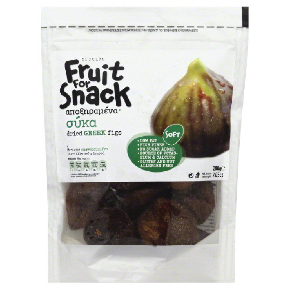 Fruit For Snack Greek Dried Figs, 7.05 Bg  ( Pack of  12)