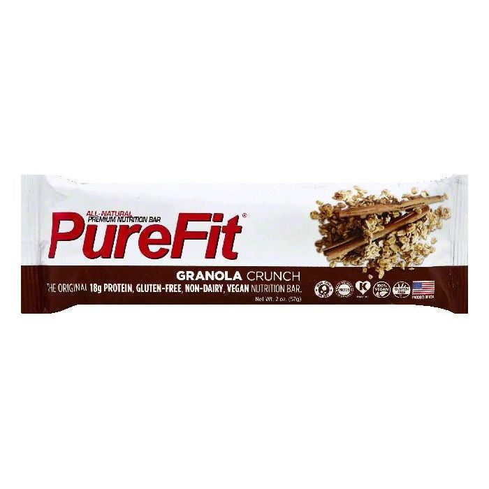 PureFit Granola Crunch Nutrition Bar, 2 OZ (Pack of 15)