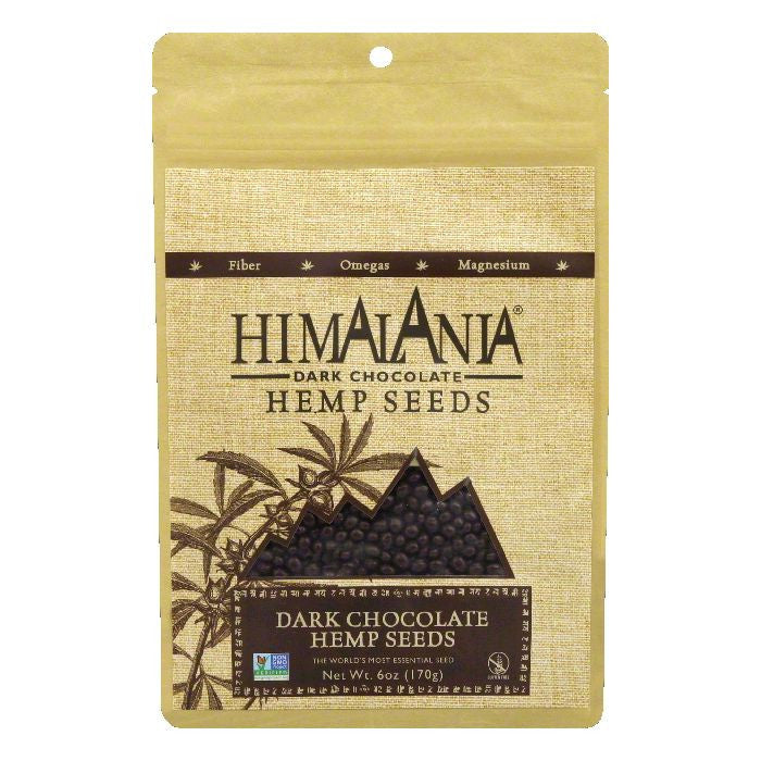 Himalania Dark Chocolate Hemp Seeds, 6 Oz (Pack of 12)