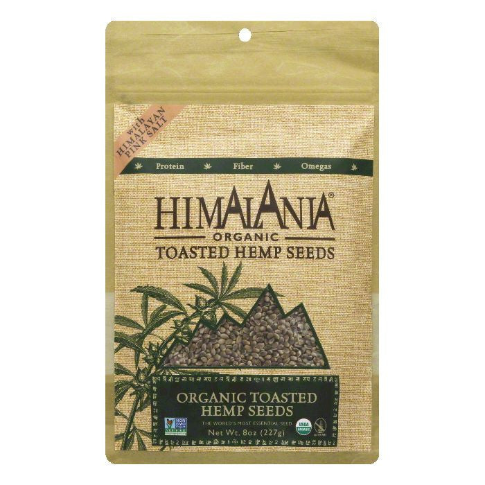 Himalania Toasted Organic Hemp Seeds, 8 Oz (Pack of 12)