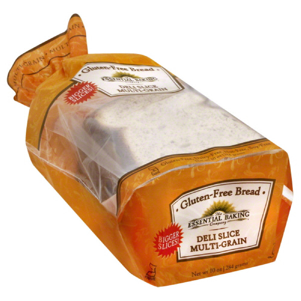 Essential Baking Deli Slice Multi-Grain Gluten-Free Bread, 10 Oz (Pack of 6)