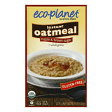 Eco-Planet Maple & Brown Sugar Instant Oatmeal, 6 ea (Pack of 6)