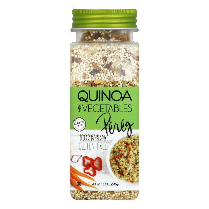 Pereg with Vegetables Quinoa, 10.58 Oz  ( Pack of  6)