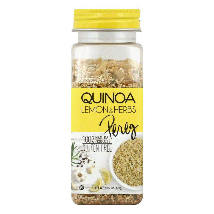 Pereg Lemon & Herbs Quinoa, 10.58 Oz (Pack of 6)
