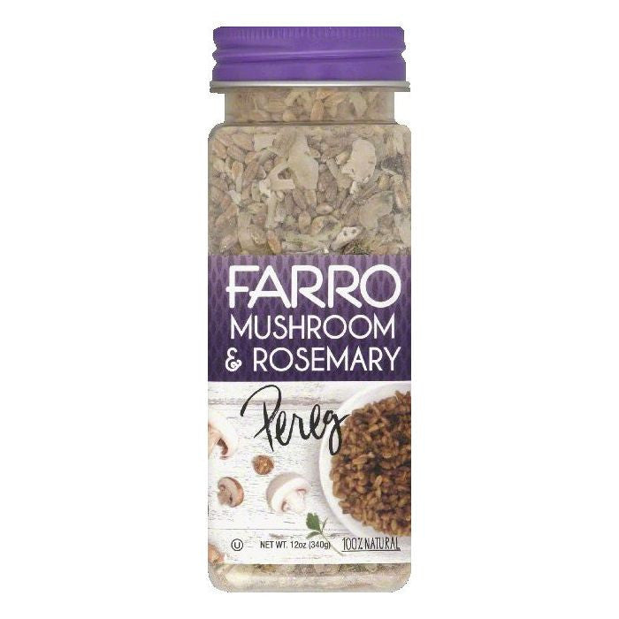 Pereg Mushroom & Rosemary Farro, 12 OZ (Pack of 6)