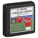 Wisconsin Cheese 4 Year Cheddar Cheese, 7.75 Oz (Pack of 8)