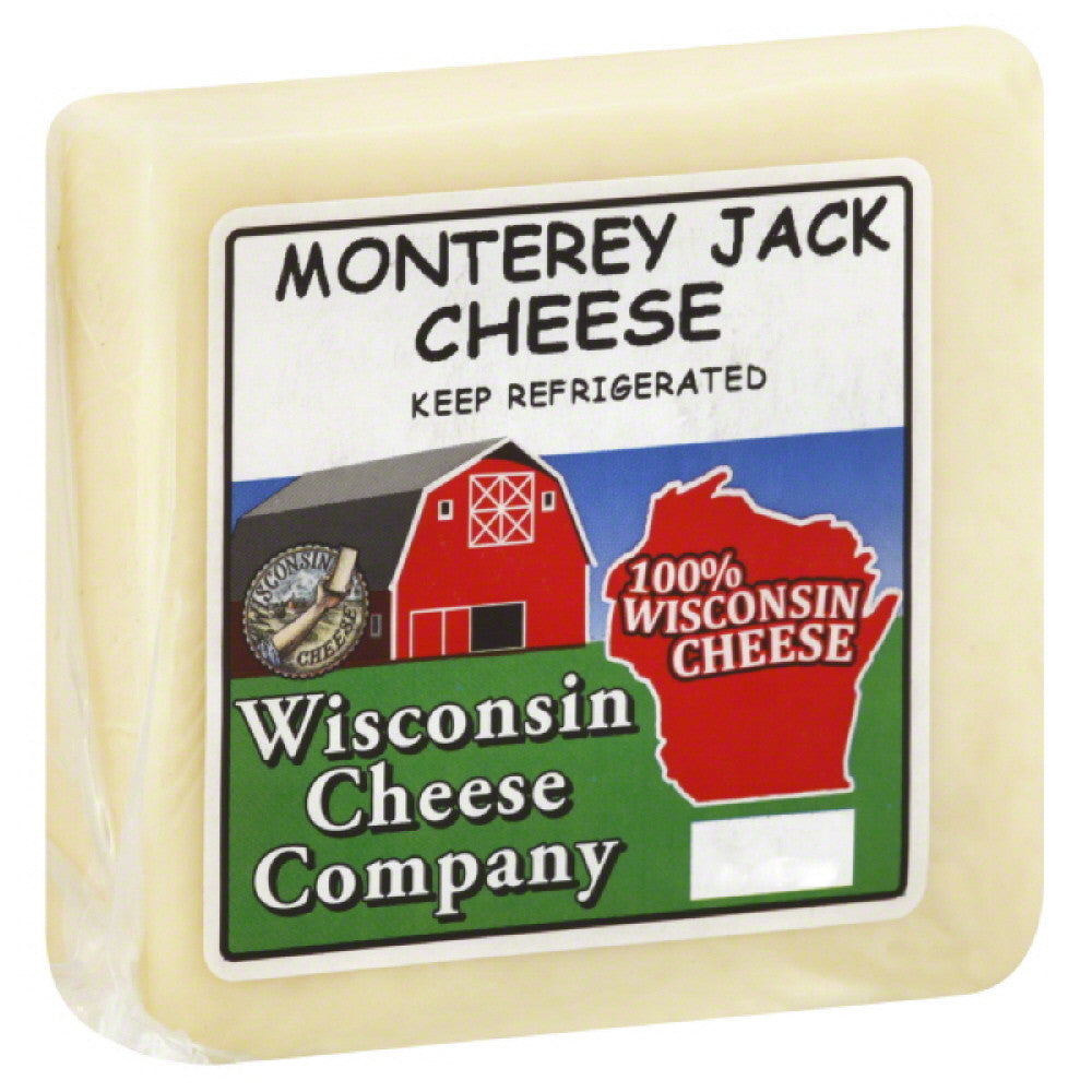 Wisconsin Cheese Monterey Jack Cheese, 7.75 Oz (Pack of 8)