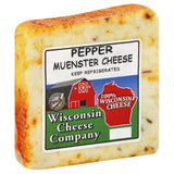 Wisconsin Cheese Pepper Muenster Cheese, 7.75 Oz (Pack of 8)