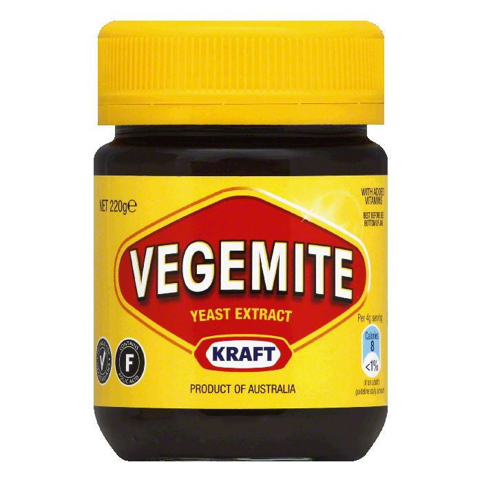 Kraft Vegemite, 7.8 Oz (Pack of 12)
