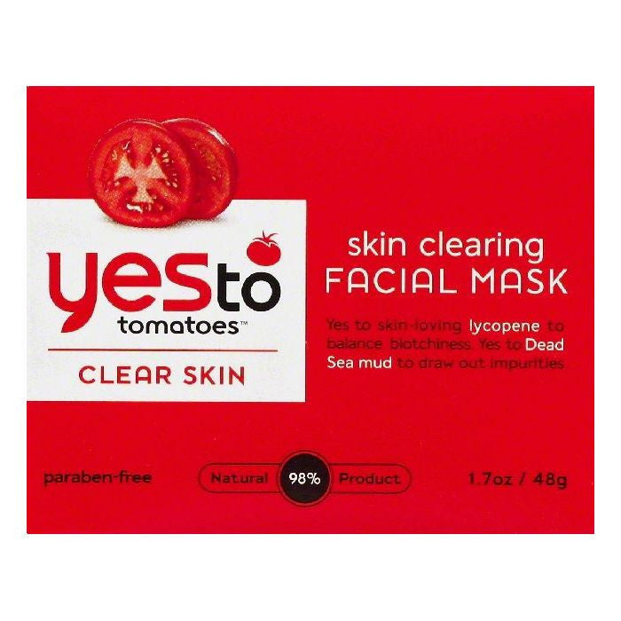 Yes To Skin Clearing Facial Mask, 1.7 OZ