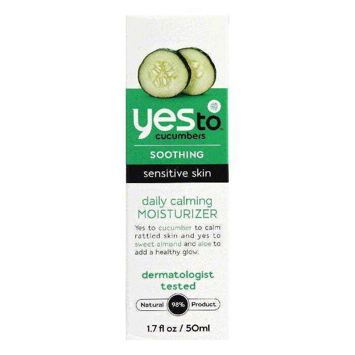 Yes To Sensitive Skin Daily Calming Moisturizer, 1.7 FO