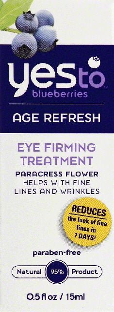 Yes To Eye Firming Treatment, 0.5 FO