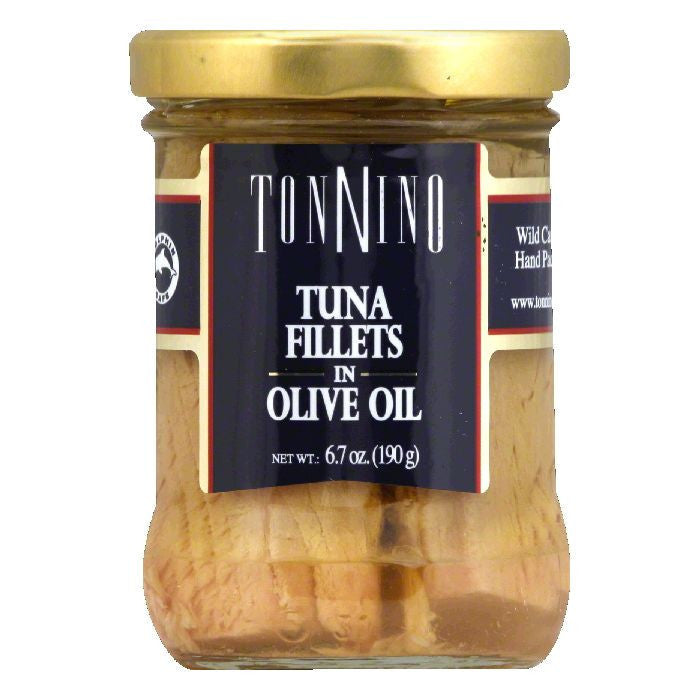 Tonnino Tuna Fillet in Olive Oil, 6.7 OZ (Pack of 6)