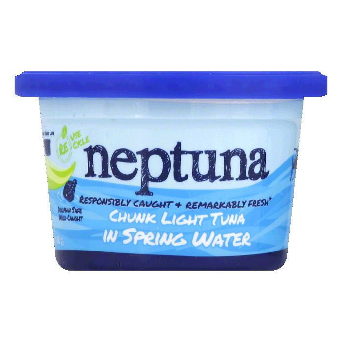 Neptuna in Spring Water Chunk Light Tuna, 5.64 Oz (Pack of 12)
