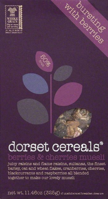 Dorset Cereals Berries & Cherries Muesli, 11.46 Oz (Pack of 5)