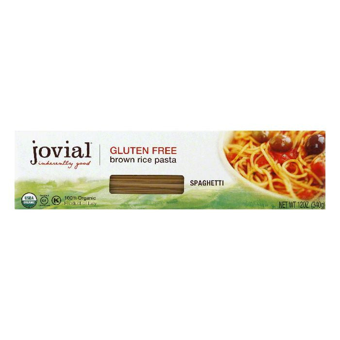 Jovial Brown Rice Spaghetti, 12 Oz (Pack of 12)