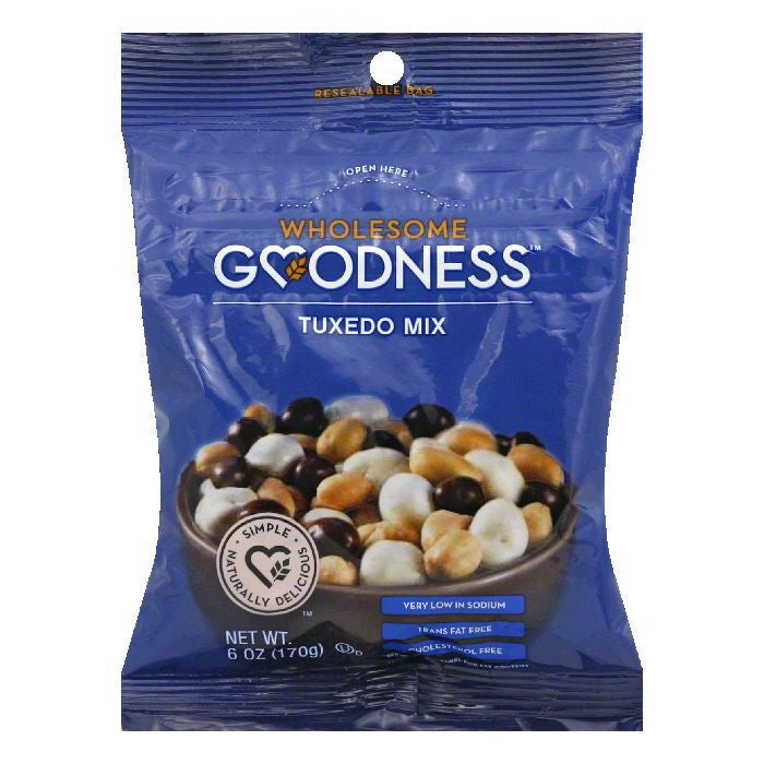 Wholesome Goodness Tuxedo Mix, 6 Oz (Pack of 12)