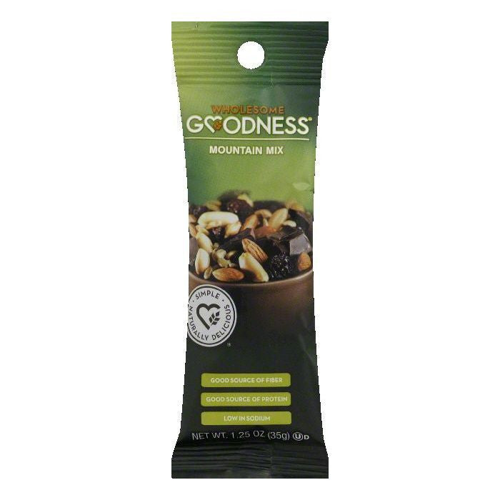 Wholesome Goodness Mountain Mix, 1.25 OZ (Pack of 12)
