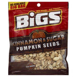 Bigs Cinnamon & Sugar Home-Style Roast Pumpkin Seeds, 5 Oz  ( Pack of  8)