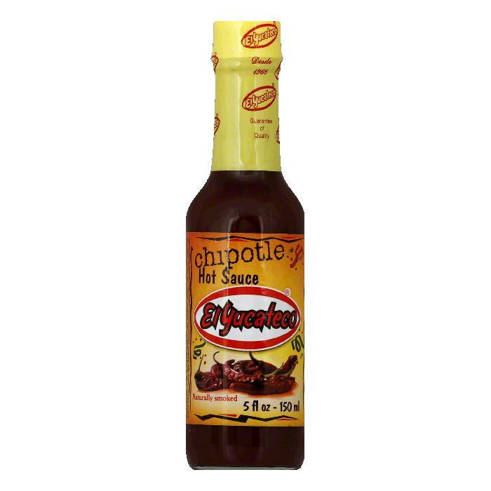 El Yucateco Chipotle Sauce, 5 OZ (Pack of 12)