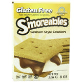 Kinnikinnick Smoreable Graham Style Crackers, 8 Oz (Pack of 6)