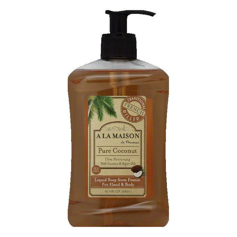 A La Maison Pure Coconut Liquid Soap, 16.9 FO